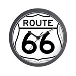 route 66 6 Wall Clock