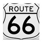 route 66 6 Tile Coaster