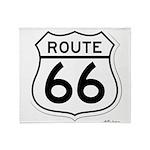 route 66 6 Throw Blanket