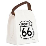 route 66 6 Canvas Lunch Bag