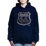 route 66 6 Women's Hooded Sweatshirt