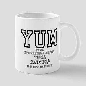 AIRPORT CODES - YUM - YUMA, ARIZONA! Mugs