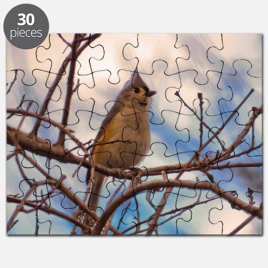 Tufted Titmouse bird Puzzle
