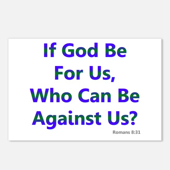 If God Be For Us Postcards (Package of 8)