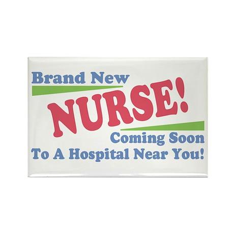 Brand New Nurse Student Rectangle Magnet (10 pack)
