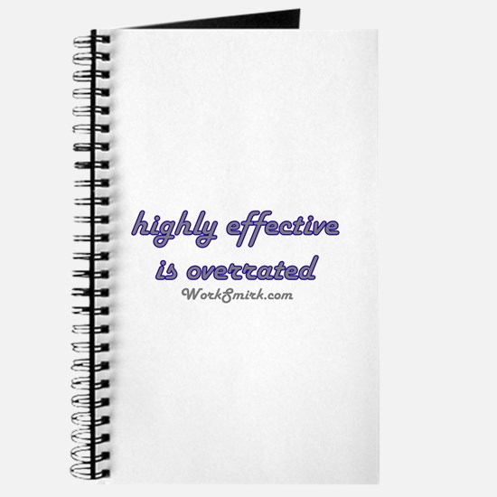 Highly Overrated 01 Journal