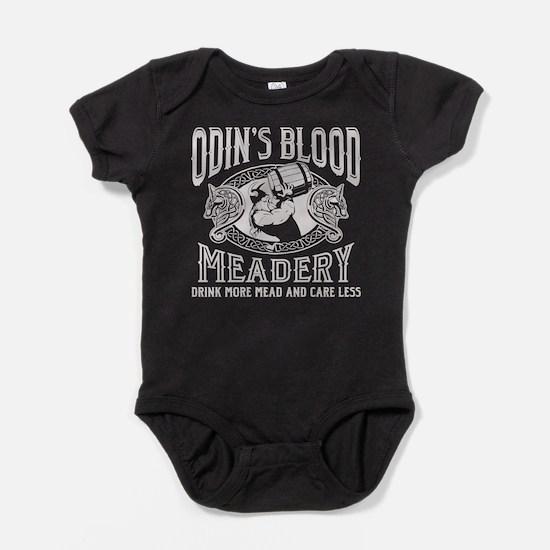 Odin's Blood Meadery Baby Bodysuit