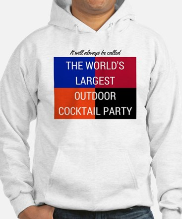 World's Largest Outdoor Cocktail Party Hoodie