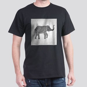 Indian Elephant Dark T-Shirt