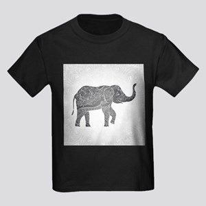 Indian Elephant Kids Dark T-Shirt