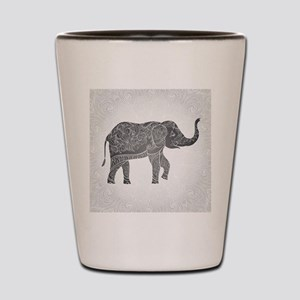 Indian Elephant Shot Glass