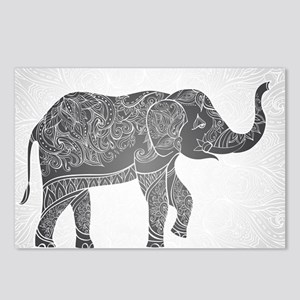 Indian Elephant Postcards (Package of 8)