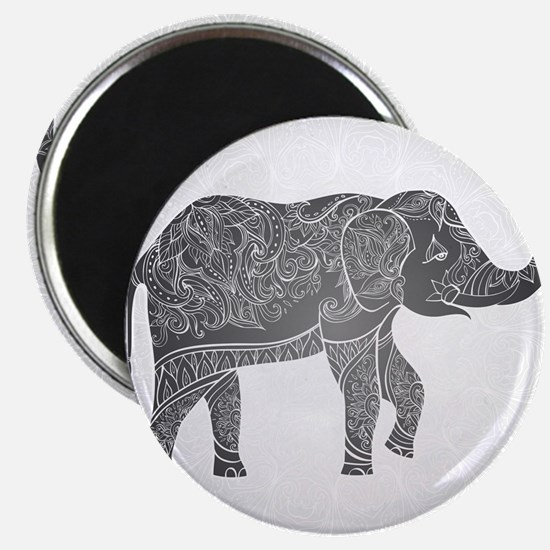 "Indian Elephant 2.25"" Magnet (10 pack)"