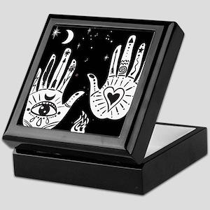 Mystic Hands Keepsake Box