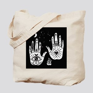 Mystic Hands Tote Bag
