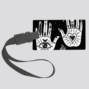 Mystic Hands Large Luggage Tag
