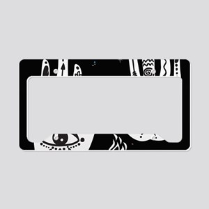 Mystic Hands License Plate Holder