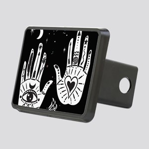 Mystic Hands Rectangular Hitch Cover