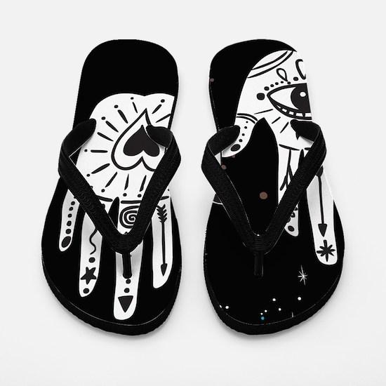 Mystic Hands Flip Flops