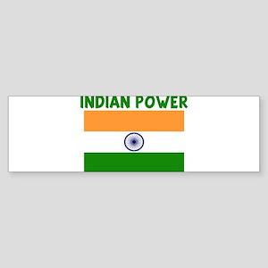 INDIAN POWER Bumper Sticker