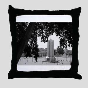 Piazza del Popolo Throw Pillow