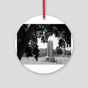 Piazza del Popolo Ornament (Round)
