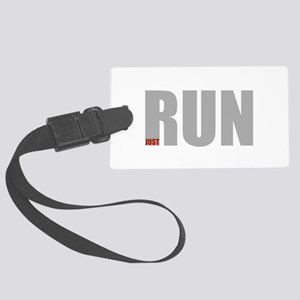 Run Luggage Tag