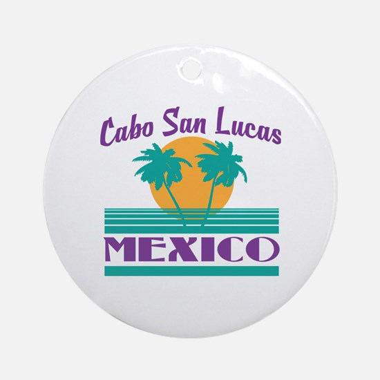 Funny Lucas Round Ornament