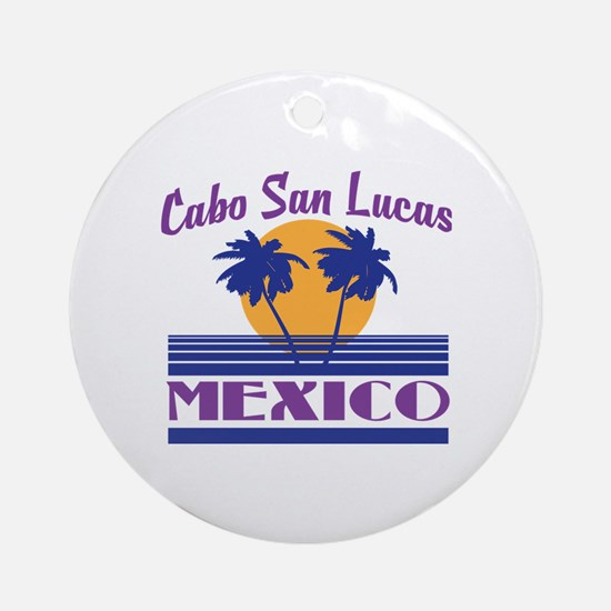 Funny Mexican holiday Round Ornament