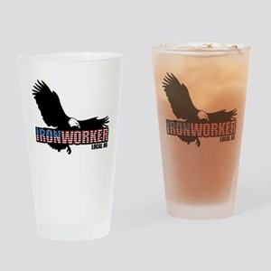 Ironworker Drinking Glass
