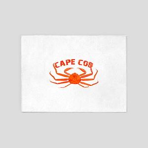 Cape Cod Crab 5'x7'Area Rug