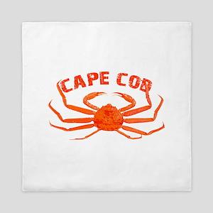 Cape Cod Crab Queen Duvet