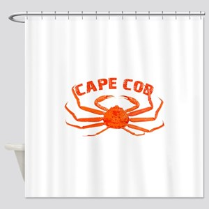 Cape Cod Crab Shower Curtain