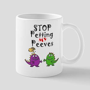 My pet peeves cartoon Mugs