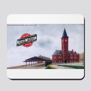 Milwaukee's Northwestern Depot Mousepad