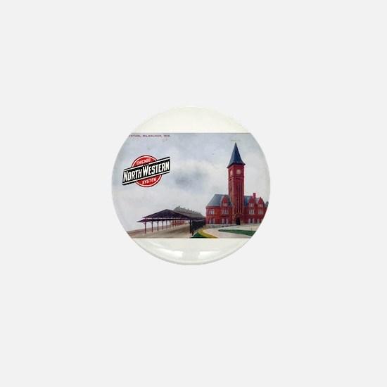 Milwaukee's Northwestern Depot Mini Button