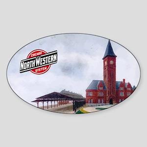 Milwaukee's Northwestern Depot Sticker