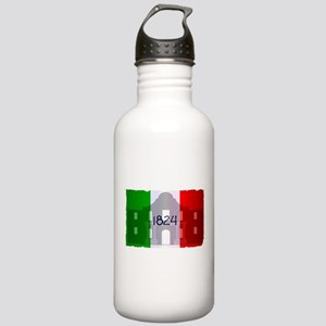 The Flag of Alamo Stainless Water Bottle 1.0L