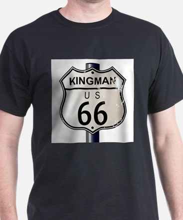 Kingman Route 66 Sign T-Shirt
