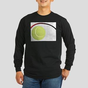 Tennis Ball and Racket Long Sleeve T-Shirt