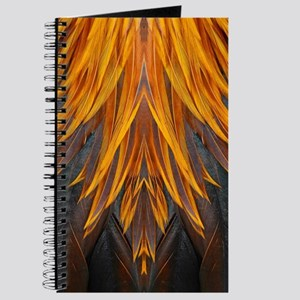 Abstract Feathers Journal