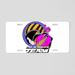 Car Acrobatic Team Aluminum License Plate