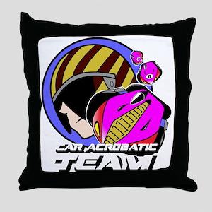 Car Acrobatic Team Throw Pillow