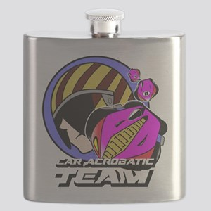 Car Acrobatic Team Flask