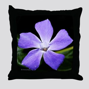 Lavender Ice Throw Pillow