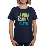 Life's a Beach Women's Dark T-Shirt
