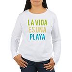 Life's a Beach Women's Long Sleeve T-Shirt