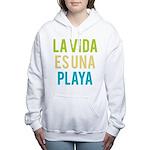 Life's a Beach Women's Hooded Sweatshirt