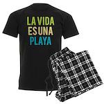 Life's a Beach Men's Dark Pajamas