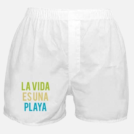Life's a Beach Boxer Shorts